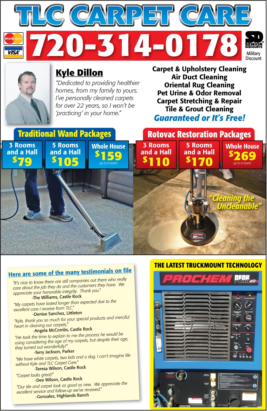 Carpet Cleaning Prices Centennial Co